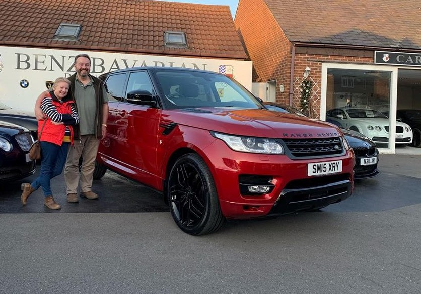 Kevin Hall Range Rover 2