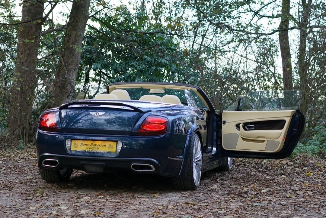 Bentley Gtc Blue 11