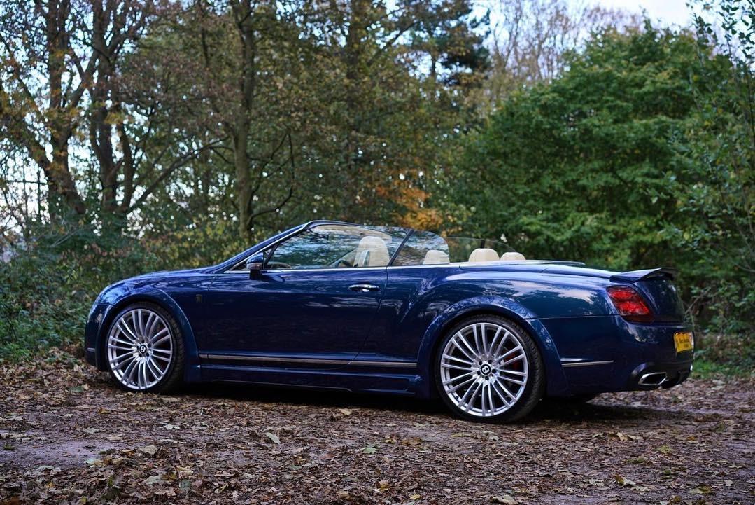 Bentley Gtc Blue 31