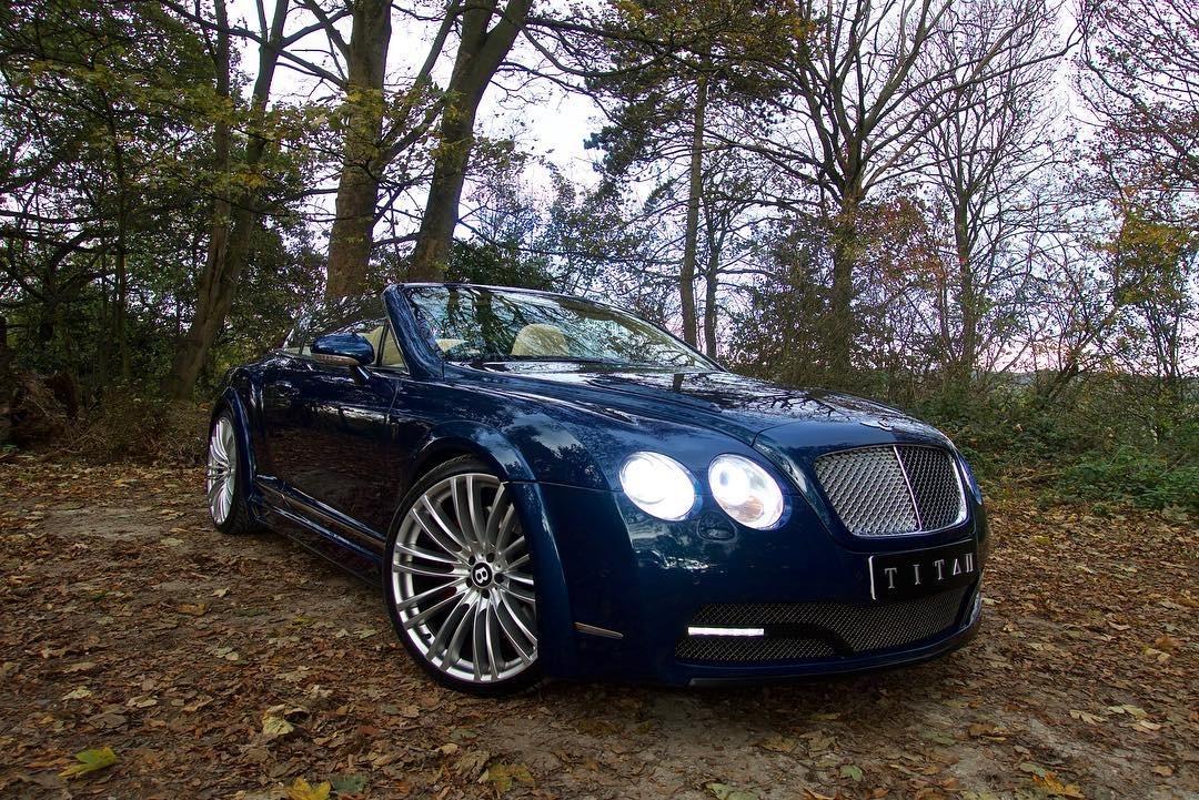 Bentley Gtc Blue 71