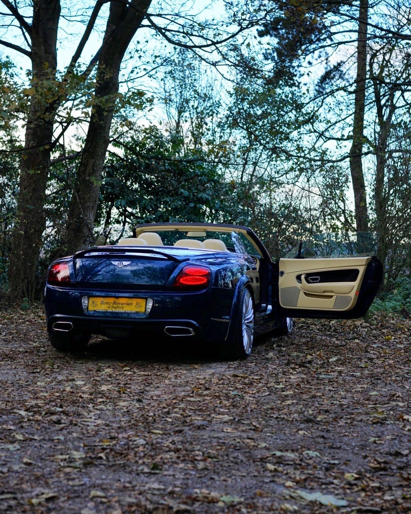 Bentley Gtc Blue 81