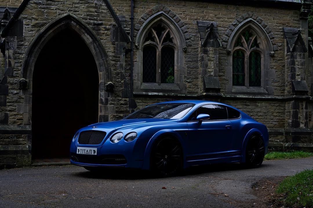 Bentley Gt Matte Blue 32