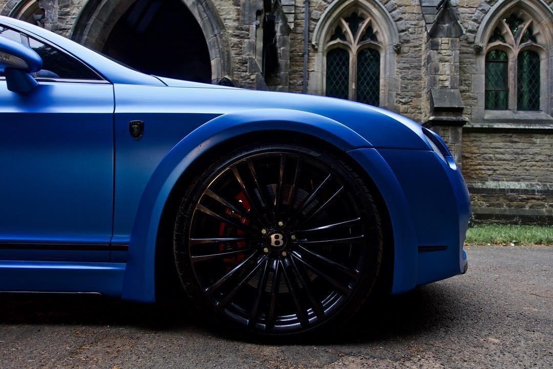 Bentley Gt Matte Blue 35