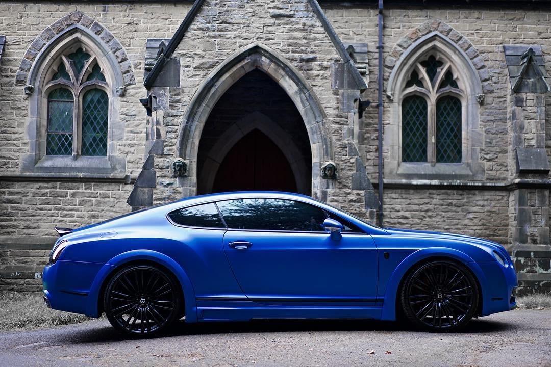 Bentley Gt Matte Blue 38