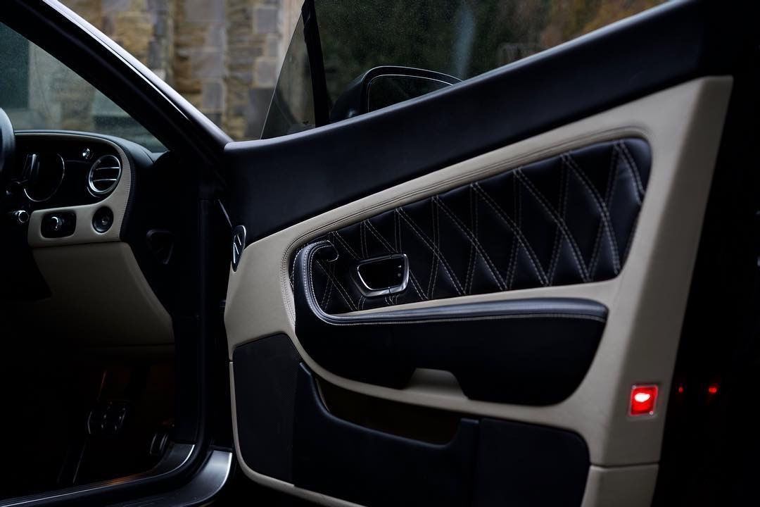 Bentley Gt Matte Black 2