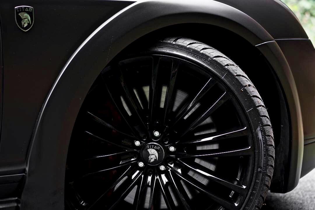 Bentley Gt Matte Black 3