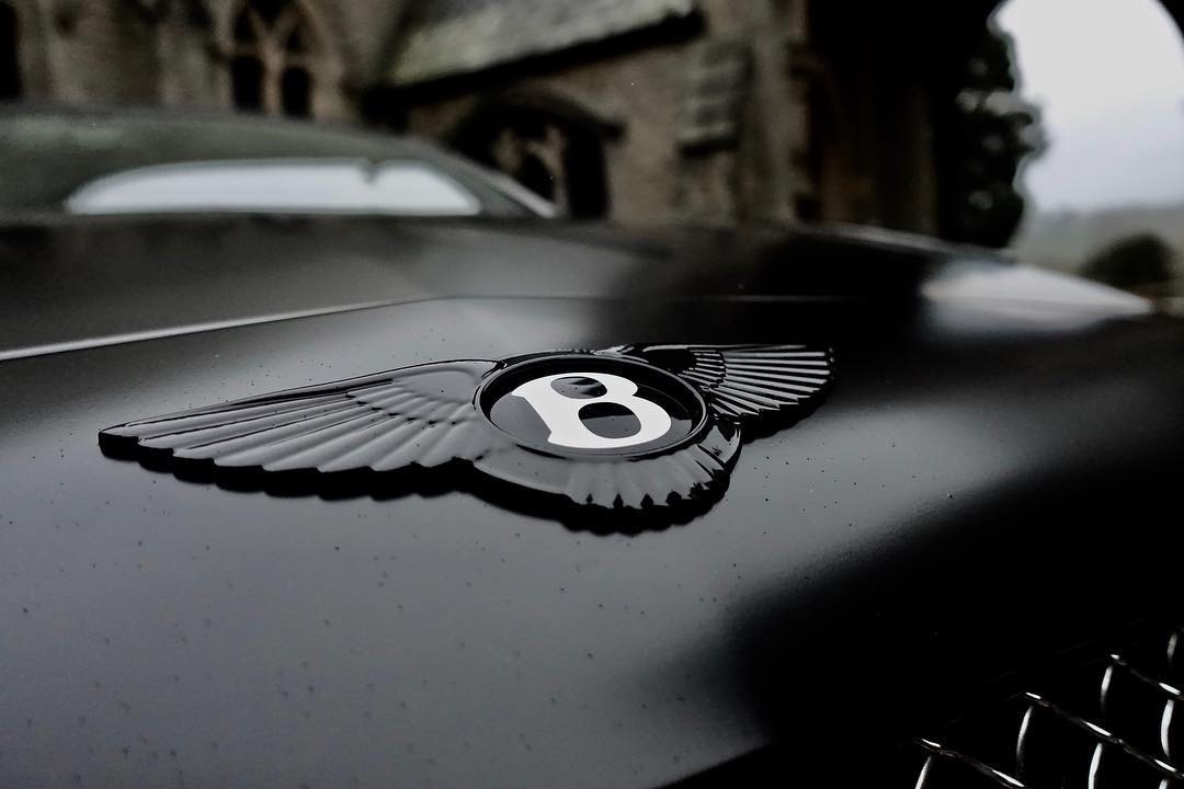 Bentley Gt Matte Black 4