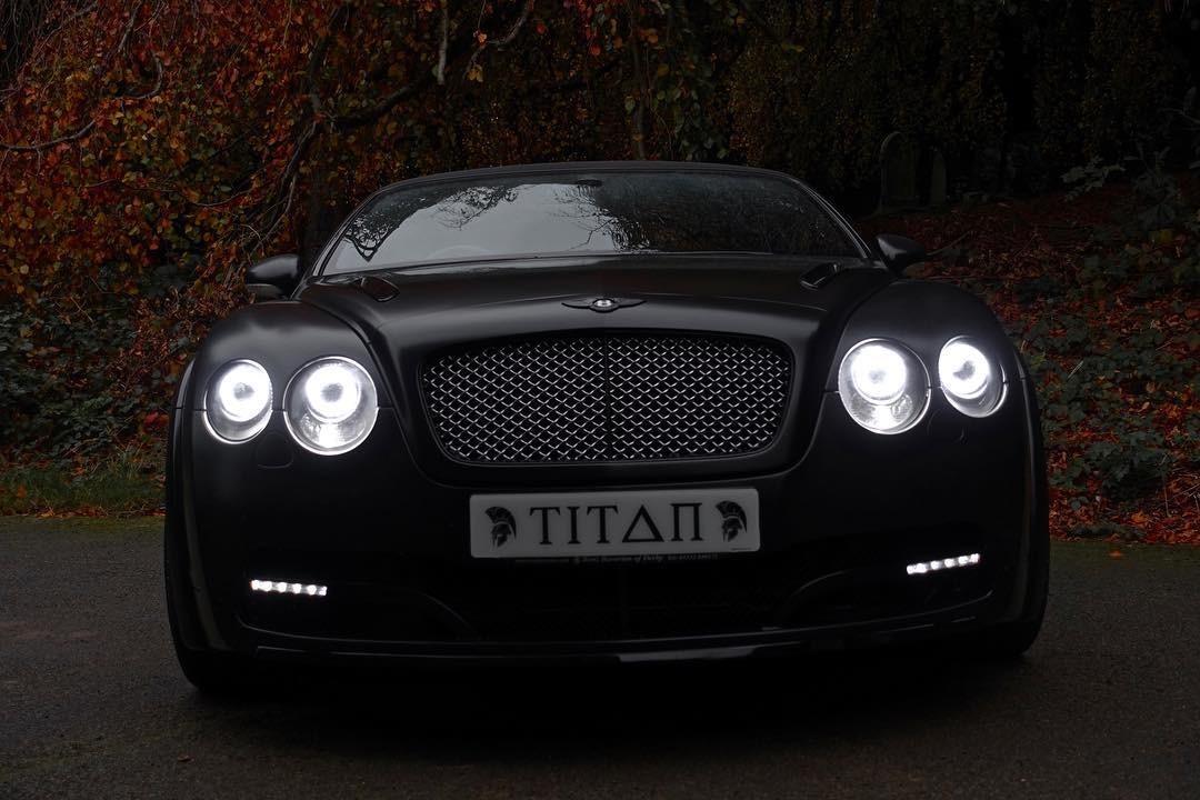 Bentley Gt Matte Black 5