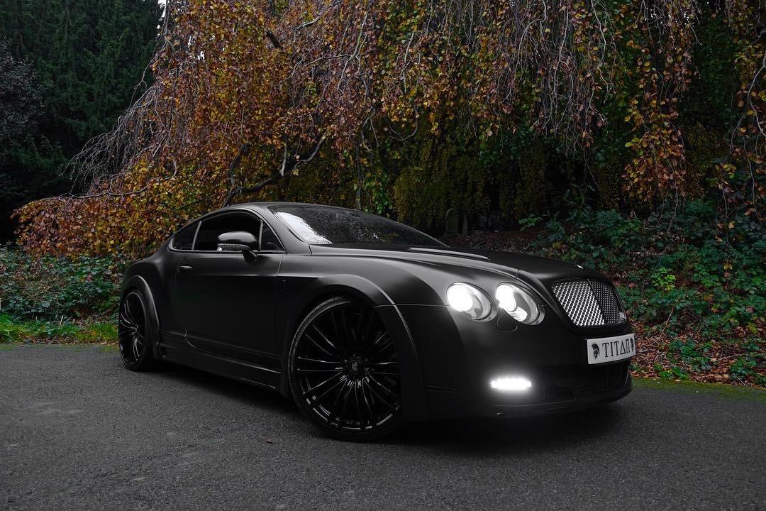 Bentley Gt Matte Black 7