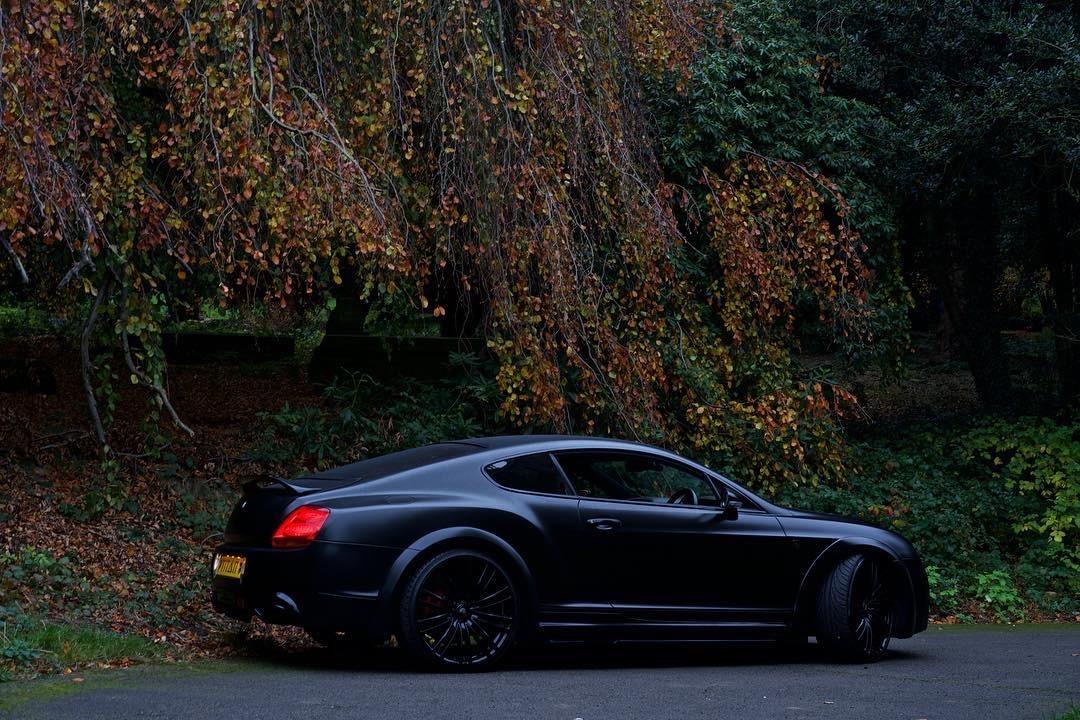 Bentley Gt Matte Black 8