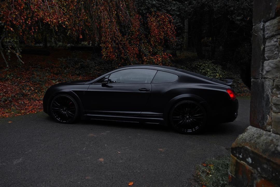 Bentley Gt Matte Black 9