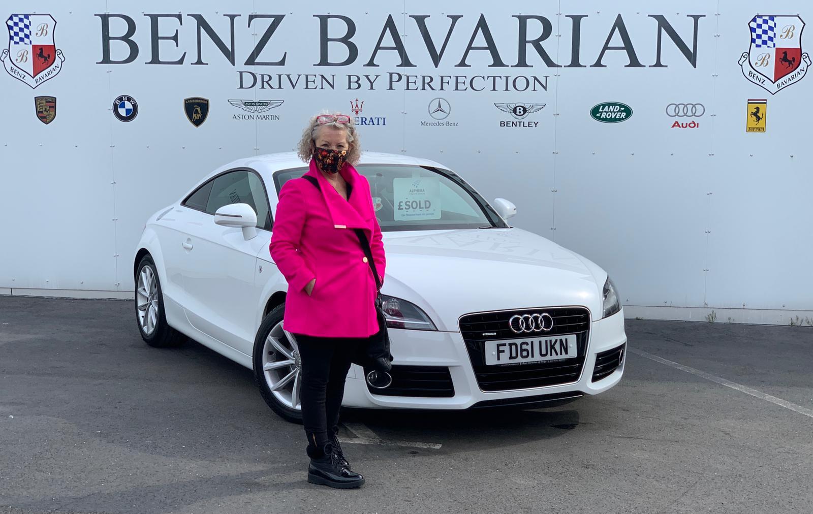 Susanne D Audi Tt